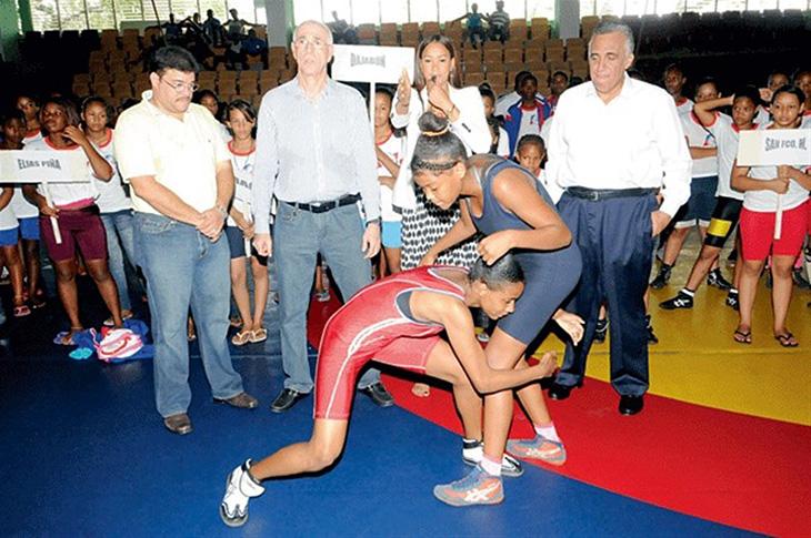 Lucha Inaugura Torneo Con Mejores 170 Atletas