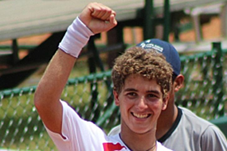 Peter Bertran Avanza Final JITIC de Tenis en Canadá