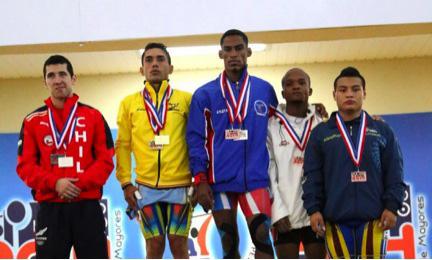 Colombia Encabeza la Rama Masculina del Panamericano de Pesas Santo Domingo 2014